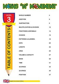Physical Education Maths Games & Lessons – Year 2 / Level 3 Bundle (UK)