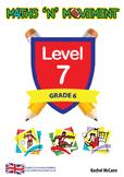 Physical Education Maths Games & Lessons – Year 6 / Level 7 Bundle (UK)