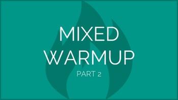 Mixed Warmup Part 2 | Physical Education Exercise Presentation