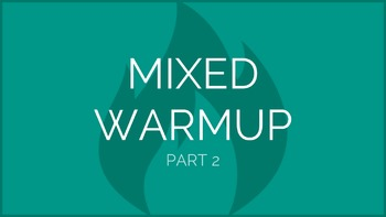 Mixed Warmup Part 2 | Physical Education Exercise Presentation
