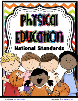 Physical Education National Standards Bulletin Board Posters & Graphics