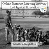 Physical Education Online Distance Learning Activity - Edi