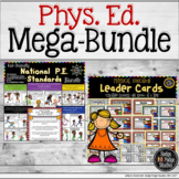 Physical Education PE Posters Aligned to SHAPE Standards a