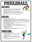 Physical Education: Pickleball