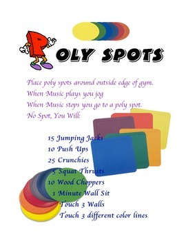 Physical Education:  Poly Spot Fitness