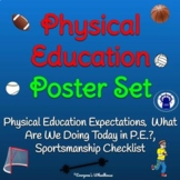 Physical Education Poster Set