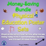 Physical Education Poster Sets Bundle