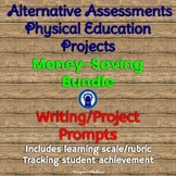 Physical Education Projects Bundle Alternative Assessments