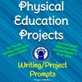 Physical Education Projects with Learning Scale/Rubric