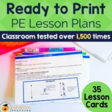Physical Education Lesson Plans