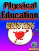 Physical Education Reward Cards 1 and 2