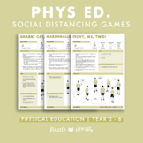 Physical Education Social Distancing Games | Year 3 - 6