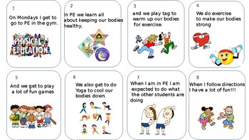 Physical Education Social Story