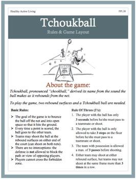 Physical Education Tchoukball Unit Plan