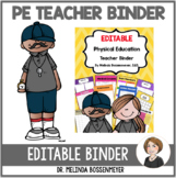 Physical Education Teacher Binder