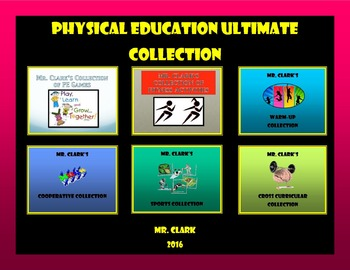 Physical Education Ultimate Activities Collection