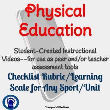 Physical Education Video Demonstration Project Rubric/Assessment