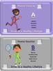 Physical Education Vocabulary License Plates - Editable