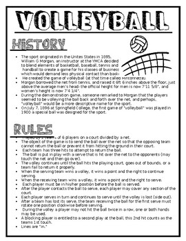 Physical Education: Volleyball