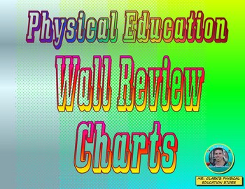 Physical Education Wall Review Charts