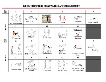 Physical Education Warm Up Activity