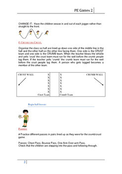 Physical Education Warm Up Games and Ball Games