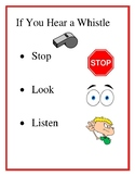Physical Education Whistle Poster