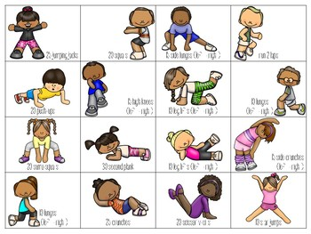 Physical Education Workout Games