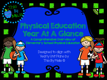 Physical Education Year At A Glance