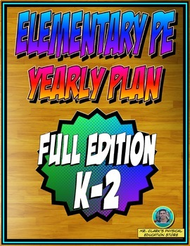 Physical Education Yearly Plan 5 w/ Surfing into Summer Field Day