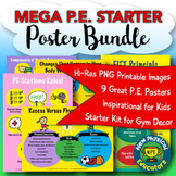 Starter Poster Pack for Physical Education and Health
