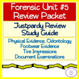 Physical Evidence, Odontology, Footwear, Tire Impressions, Document: Review