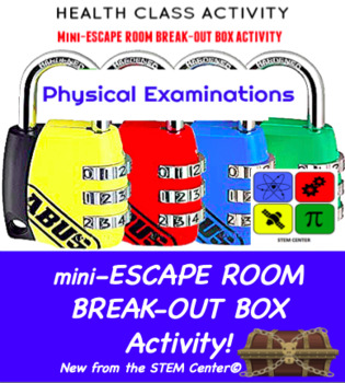 Physical Examinations Health Escape Room - Break Out Box