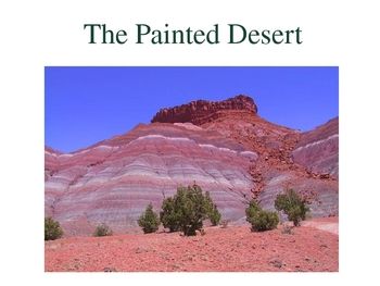 Physical Features (Landforms) of Arizona
