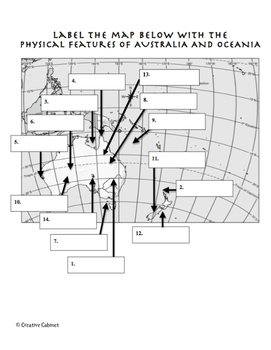 Physical Features of Australia and Oceania