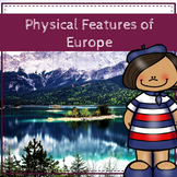 Physical Features of Europe: Readings, Photo Spheres, and Activity Workbook