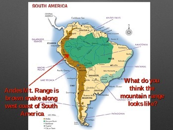 Physical Features of South America