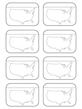 Physical Features of the US Foldable