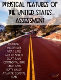 Physical Features of the United State Assessment {Construc