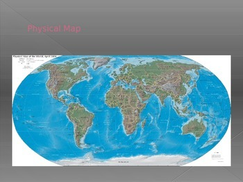 Physical Features of the World - Mountain Ranges and Rivers