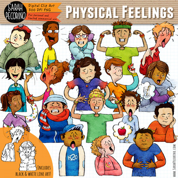 Physical Feelings Clip Art