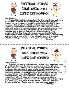 Physical Fitness Challenge 2014