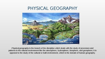 Physical Geography 1/12: The Discipline of Geography