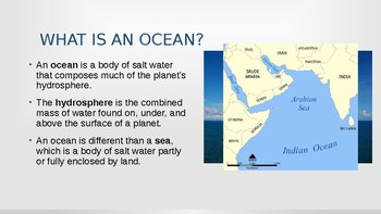 Physical Geography 4/12: Oceans