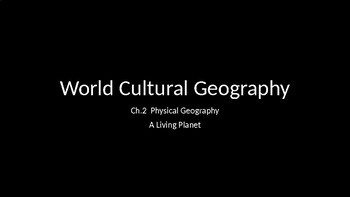 Physical Geography A Living Planet
