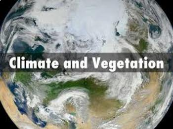 Physical Geography Climate and Vegetation Bundle