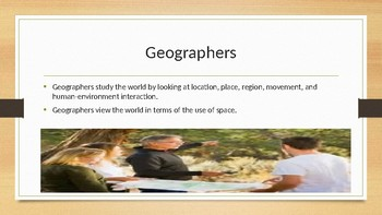 Physical Geography Looking at the Earth
