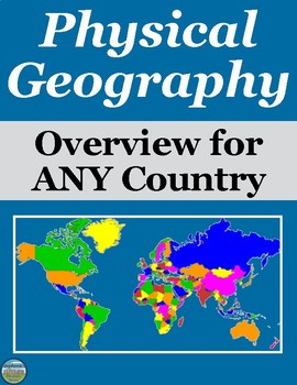 Physical Geography Overview Activity