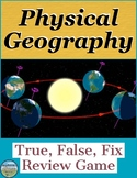 Physical Geography Review Game