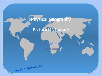 Physical Geography Slideshow